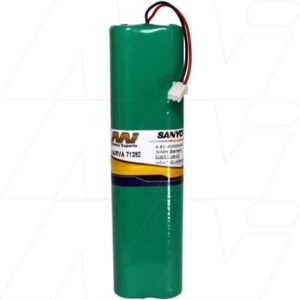 4.8V NiMH Battery suitable for Specialised Torch & Laser Sight, 4000mAh, Mst, Narva 71392 battery, TB-71392