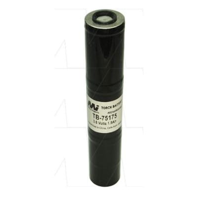 3.6V NiCd Battery suitable for Specialised Torch & Laser Sight, 1900mAh, Mst, Streamlight 75175, TB-75175
