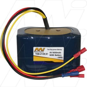 AEMC 2129.91 Test Equipment Battery, 6V, 9Ah, NiMH, TEB-2129.91