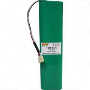 AEMC 1060 Test Equipment Battery 9.6V 4Ah NIMH TEB-6240