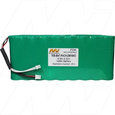 Atom HD television/satellite analysers Test Equipment Battery, 10.8V, 4.5Ah, NiMH, TEB-BAT-PACK-DM16HD