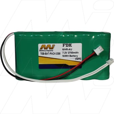 Rover Instruments S2 Test Equipment Battery, 7.2V, 2.7Ah, NiMH, TEB-BAT-PACK-DS8