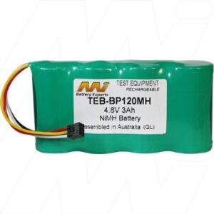 Fluke 123 and 124 series scopemeters and Fluke 43 and 43B series power quality analysers Test Equipment Battery, 4.8V, 3Ah, NiMH