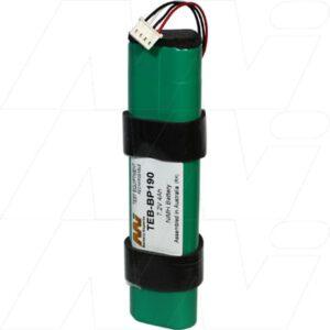 Fluke 190 series scopemeter Test Equipment Battery, 7.2V, 4Ah, NiMH, TEB-BP190