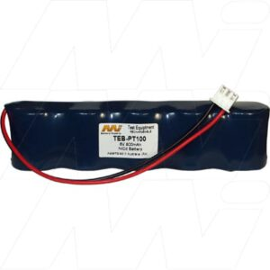 Yamaha PT100 Piano Tuner Test Equipment Battery 6V 800mAh NICd TEB-PT100