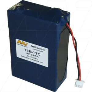 TTC Interceptor 147 Communications Analyser Test Equipment Battery 6V 2800mAh SLA TEB-TTC