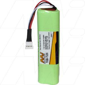 Fluke 2446641 Test Equipment Battery, 7.2V, 2.1Ah, NiMH, TEB-Ti25