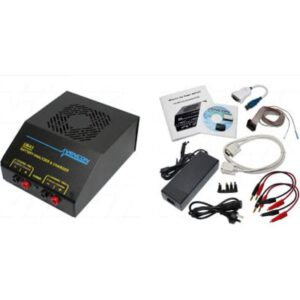 Vencon Battery Analyser High Current 0-24V 10A c/w USB Adaptor, Temperature Probes & Power Supply
