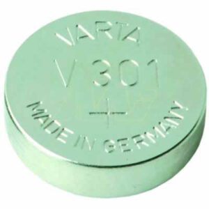 1.55V Silver Oxide Button / Coin Cell 115mAh, Varta, V301-TN1