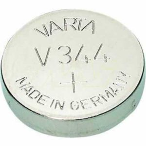 1.55V Silver Oxide Button / Coin Cell 100mAh, Varta, V344-TN1