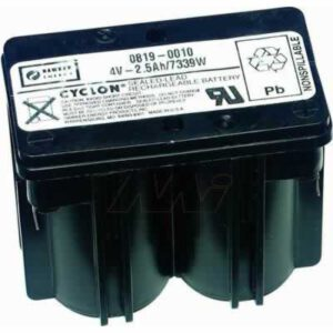 4V Monobloc Sealed Lead Tin Cyclon Monobloc 2500mAh, Hawker, 0819-0010