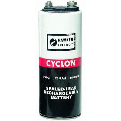 2V 25000mAh BC Sealed Lead Tin Cyclon Cell Hawker 0820-0004