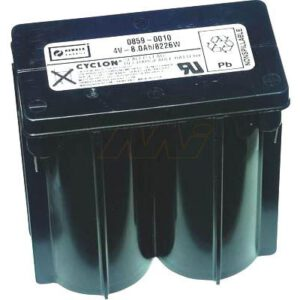 4V Monobloc Sealed Lead Tin Cyclon Monobloc 8000mAh, Hawker, 0859-0010