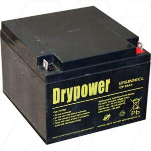 12V 12SB26CL 12SB26CL Battery