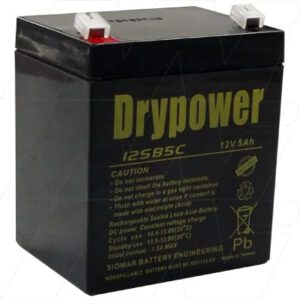 12V 5Ah 12SB5C Drypower Battery