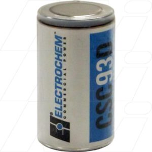 3.9V D Lithium Sulfuryl Chloride High Rate Cell CSC93 Series 15Ah, Electrochem, 3B0035-FF