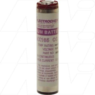 3.9V CC Lithium Sulfuryl Chloride High Rate Cell PMX165 Series 13Ah, Electrochem, 3B5200-FF