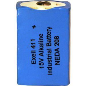 15V Alkaline Specialised Test, Exell, 411-BP1