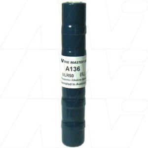 9V Alkaline Specialised Cylindrical Cell 600mAh, Mst, A136