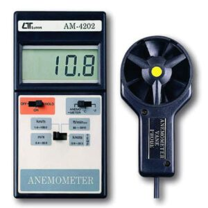 Lutron Anemometer With Temperature, AM4202