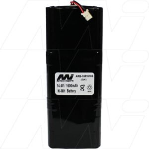 ARB 15.910.185 Automation & Security Remote Control Battery, 14.4V, 1.6Ah, NiMH, ARB-15910185