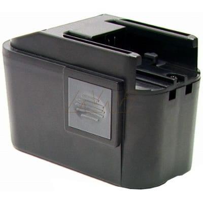 AEG Battery Light PL Option Power Tool Battery, 9.6V, 1900mAh, NiCd, BCA-B9.6