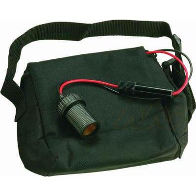 Sealed Lead Acid Battery carry bag for 12V 7Ah and 6V 12Ah SLA Batteries, BCB127