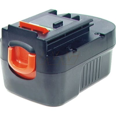 Black & Decker FSB14 Power Tool Battery, 14.4V, 1900mAh, NiCd, BCBD-FSB14