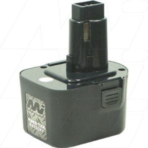 Black & Decker CD1200K Power Tool Battery 12V 2.5Ah NICd BCD-DW9074XE-BP1