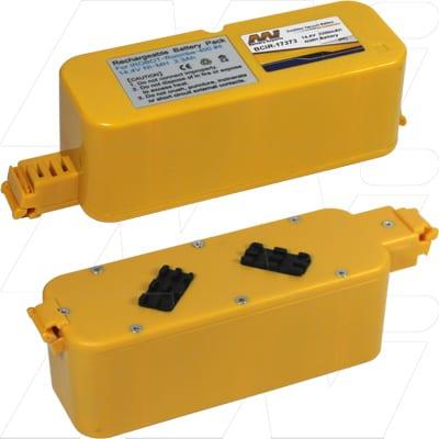 iTouchless AV001A Vacuum Cleaner Battery, 14.4V, 3.3Ah, NiMH, BCIR-17373