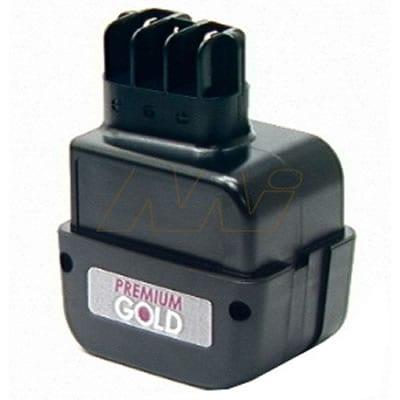 Metabo BE AT7.2 Power Tool Battery, 7.2V, 1900mAh, NiCd, BCMET-6.31677