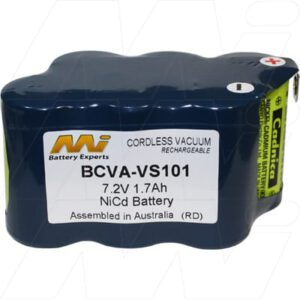 7.2V Vax 53000 BCVA-VS101 Battery