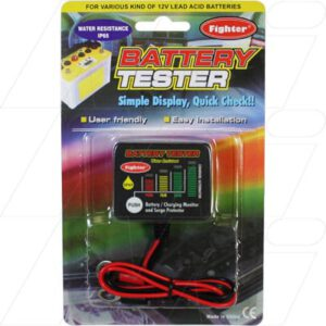 Battery Tester For 12V Lead Acid Batteries, BT012WR