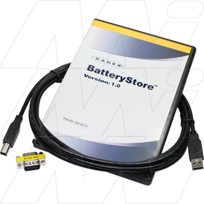 Cadex BatteryStore PC Software