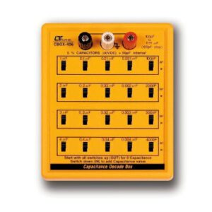 Lutron Capacitance Decade Box, CBOX-406