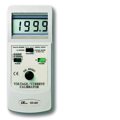 Lutron Voltage/Current Calibrator, CC421