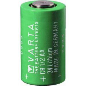 3V 1/2AA Lithium Manganese Cylindrical Cell 950mAh, Varta, CR1/2AA