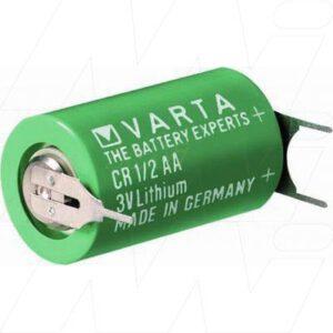 3V 1/2AA Lithium Manganese Cylindrical Cell 950mAh, Varta, CR1/2AA-SLF