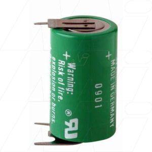 3V 1/2AA Lithium Manganese Cylindrical Cell 950mAh, Varta, CR1/2AA-SLF1