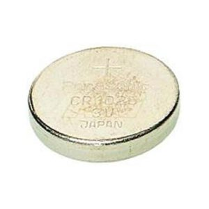 3V Button / Coin Lithium Manganese Button / Coin Cell 30mAh, Renata, CR1025(r))