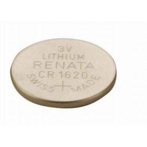 3V Button / Coin Lithium Manganese Button / Coin Cell 75mAh, Renata, CR1620(R)