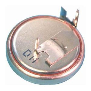 3V 125mAh Button / Coin CR1632FH Lithium Manganese Dioxide Specialised Cell PCB Mount, Renata