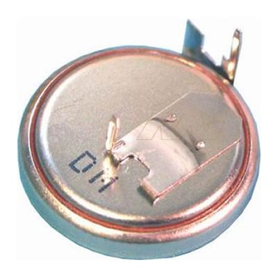 3V Button / Coin Lithium Manganese Dioxide Specialised Cell PCB Mount l 125mAh, Renata, CR1632FH