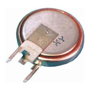 3V 125mAh Button / Coin CR1632FV Lithium Manganese Dioxide Specialised Cell PCB Mount, Renata