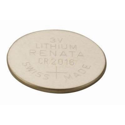 3V 90mAhButton / Coin CR2016 (R) Lithium Manganese Cell, Renata