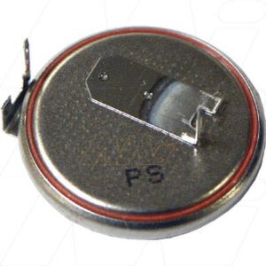 3V 170mAh Button / Coin CR2025FH Lithium Manganese Dioxide Specialised Cell PCB Mount, Renata