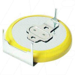 3V Button / Coin Lithium Manganese Dioxide Specialised Cell PCB Mount l 220mAh, Pan., CR2032-1GUF