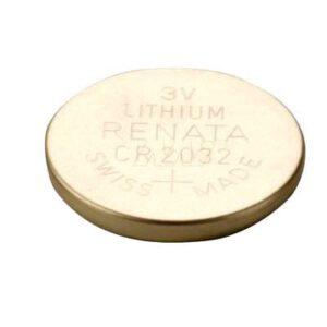 3V Button / Coin Lithium Manganese Button / Coin Cell 235mAh, Renata, CR2032(R)