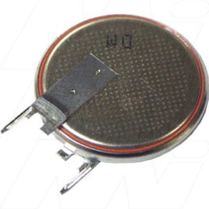 3V Button / Coin Lithium Manganese Dioxide Specialised Cell PCB Mount l 190mAh, Renata, CR2325FV