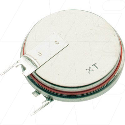 3V Button / Coin Lithium Specialised Cell PCB Mount l 285mAh, Renata, CR2430FV